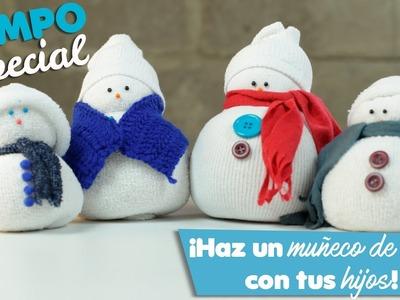 Tiempo Especial # 13 - ¡Haz un Muñeco de Nieve con tus Hijos!