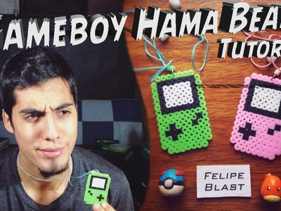 Tutorial - GameBoy con Hama.Perler Beads