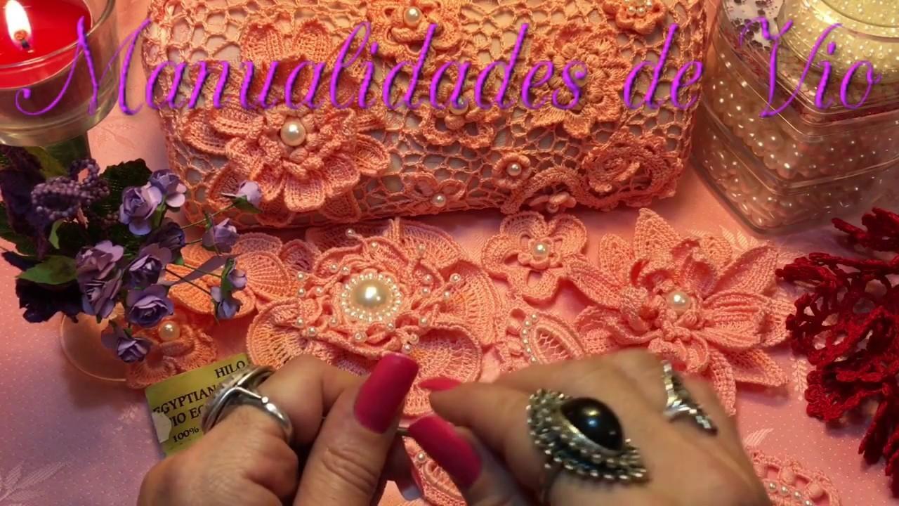 Tutorial Hoja ???? para Crochet irlandés ☘️ paso a paso