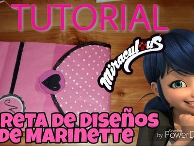 Tutorial - Libreta de Diseños de Marinette - Miraculous (part1)