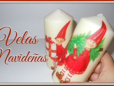 Tutorial: Vela decorativa Navideña | Mundo@Party