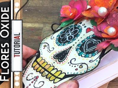 Album Calavera Mexicana 2 de 2 - Flores Oxide