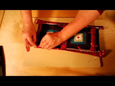 Artepatchwork | El Costurero 1x06. Unión de bloques ya acolchados y realización de funda para e-book