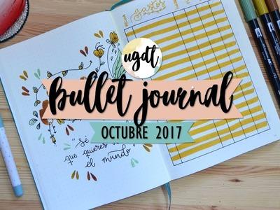 Bullet Journal Octubre 2017 - UGDT