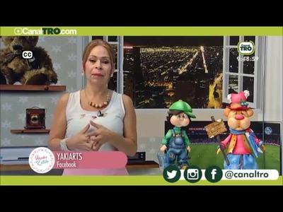CARA ELABORADA CON FOMI Y MODELADORES - YAKIARTS BY YAKI CHACON