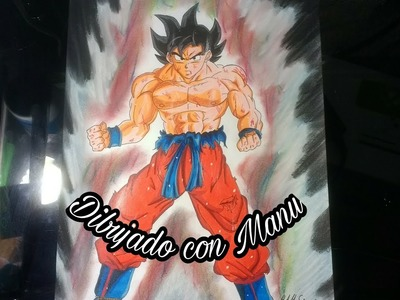 Como dibujar a Goku limit breaker|Nueva transformación| to Draw Goku limit breaker|Dragon ball super