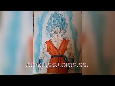 Como dibujar a goku ssjdssj. How draw to goku ssjdssj .  CADdibujos