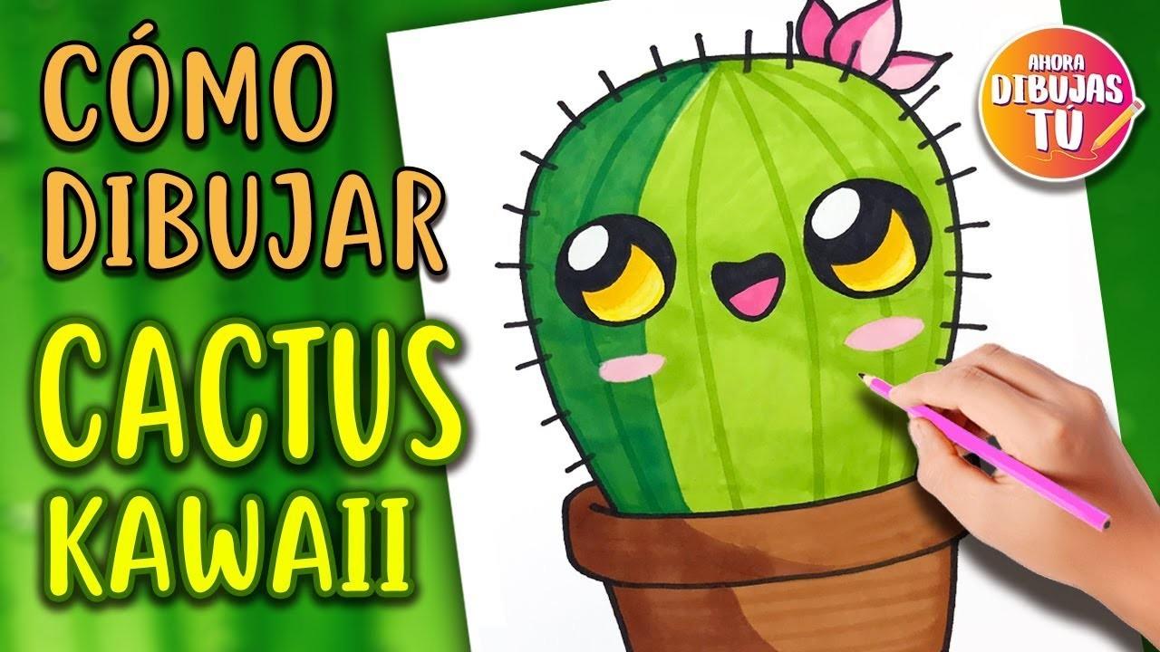 Como Dibujar Un Cactus Kawaii Dibujos Kawaii