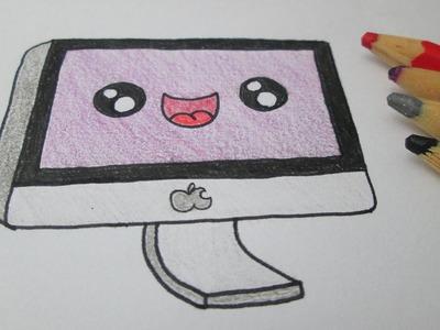 Cómo dibujar un ordenador Apple Mac