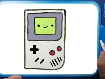 ????????Como Dibujar una Game Boy Kawaii paso a paso ✅ COMO DIBUJO