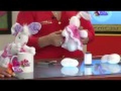 Como hacer un Conejo para Decoracion - Hogar Tv  por Juan Gonzalo Angel