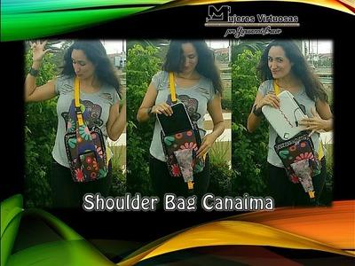 Como hacer un shoulder bag, porta tablet, porta laptop, porta celular, bandolero, por yuruanni bravo