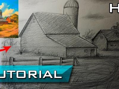 Cómo Trasladar una Foto a un Dibujo a Lápiz Paso a Paso - Aprender a dibujar Fácil - Tutorial