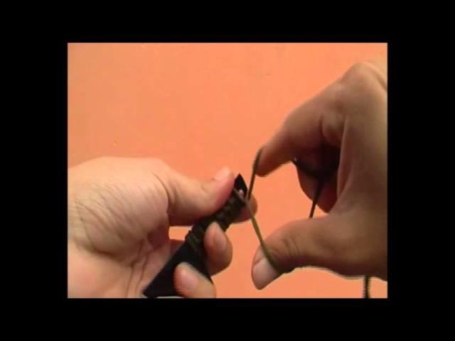 Cómo trenzar o encordar el mango de un Cuchillo