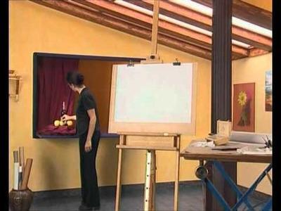 Curso practico de dibujo y pintura, dibujo-encaje, composicion y encuadre