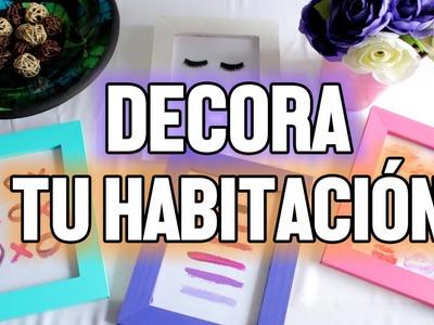 DECORA TU HABITACIÓN!
