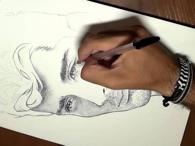 Dibujando a Zayn Malik de 1D en 3 minutos timelapse (Drawing Zayn Malik in 3 minutes)