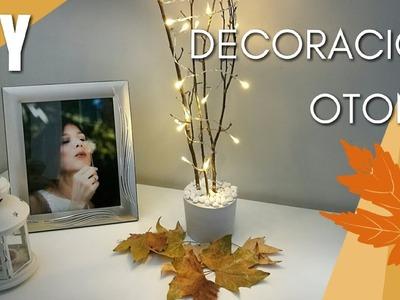DIY: DECORACIÓN OTOÑO | FALL ROOM DECOR | DECORA TU CUARTO | DIY CON YESO