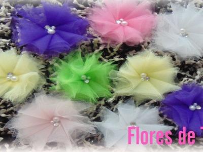 Flores de Tull. Tull Flowers