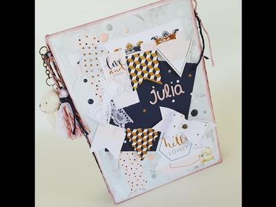 Inspiración: Álbum de bebé para Julia.