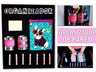 Organizador de Pared Con Materiales Reciclados | TENDÓN CREATIVO