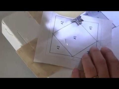 Paper Piecing - Cosiendo sobre papel. !