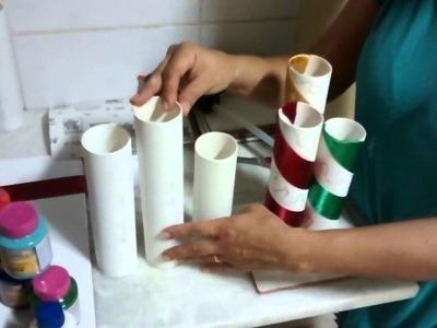 PVC vasos de Flores 01