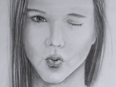 Retrato de Yuya (Lady16MakeUp): Cómo dibujar una boca mandando un beso