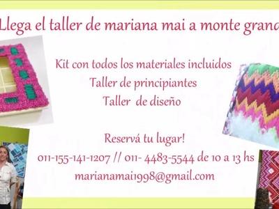 Seminario de Mariana Mai Arte Textil en Zona Sur