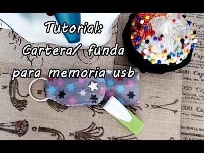 #Tutorial: coser una cartera. funda para memoria usb.
