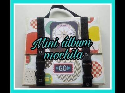 Tutorial mini álbum mochila
