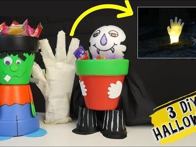 3 Divertidos DIY para decorar en HALLOWEEN
