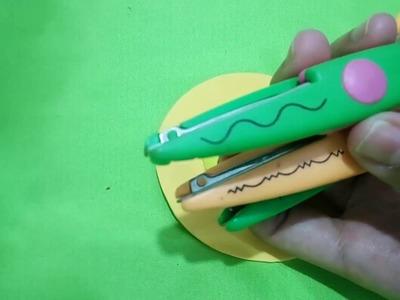 Acabado perfecto en foami, Tecnica de cortes con figura Realza tus trabajos en foami | AIsaVenezuela