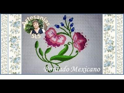 Bordado Mexicano paso a paso ♥ Guarda N°9 ♥
