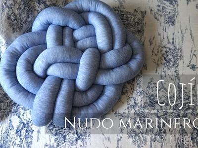 Cojín nudo marinero (Knot pillow Sailor.Celtic)