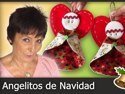 Cómo hacer Ángeles de Navidad [Tutorial]