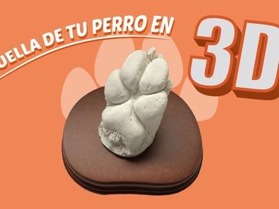 COMO HACER HUELLAS DE PERRO EN 3D
