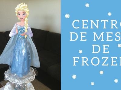 Como hacer un centro de mesa de Elsa (FROZEN)| ???? Casa Boutique ????