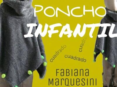 COMO HACER UN PONCHO INFANTIL - Fabiana Marquesini - 10