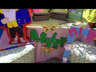 Cortina con papel crepe decoracion de fiestas | AisaVenezuela