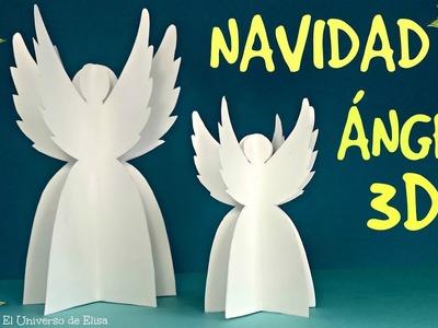 Decoración para Navidad, Cómo hacer un Ángel de Papel, Decoración Comunión, Recuerdo para Comunión