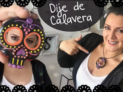 Dije de Calavera estilo Mexicano :: Skull Diy :: Chuladas Creativas Foamy Moldeable