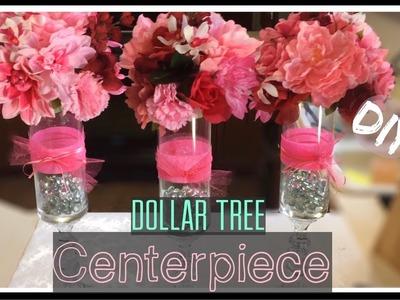 DIY DOLLAR TREE CENTERPIECE | Decoración Bonita Para fiesta, O tu Casa| Yasmin Varela