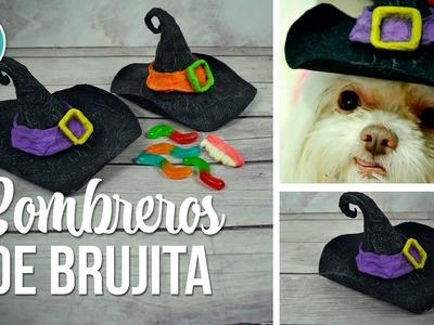 DIY Sombrero de bruja reciclando cartón (Manualidades para Halloween) | DREEN