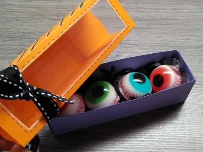 DIY TREAT BOX para HALLOWEEN  [Fácil y con pocos materiales] - Brotes de Creatividad
