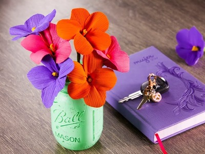Manualidad Flores con Hojas de Maíz | Cómo Hacer Flores Artificiales Fácil