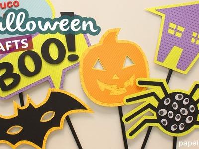 Manualidades de Halloween con papel para niños