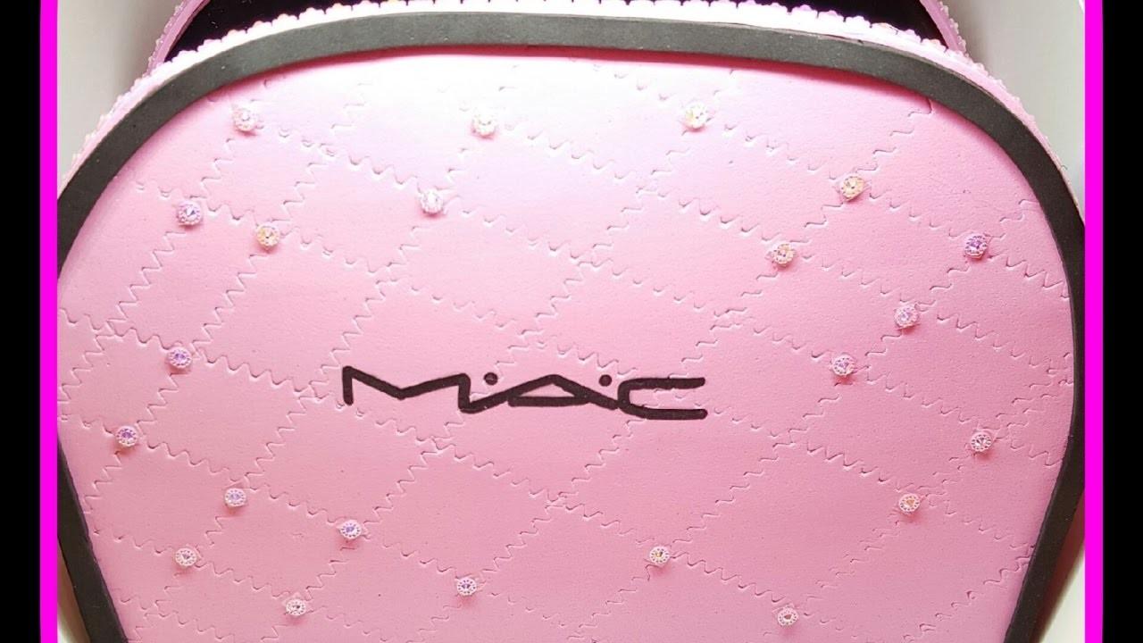 Organizador en forma de Cartera de Maquillaje. Organizador como Necesser.MAC