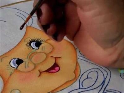 Pintura en Tela   Rostro y Lentes   Abuelita 1