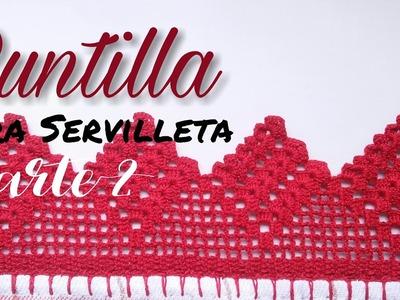 PUNTILLA PARA SERVILLETA #12 PARTE 2 FINAL
